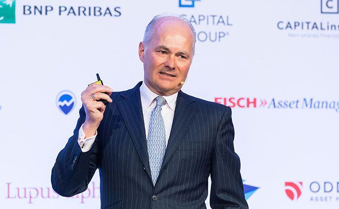 Einer der Top-Speaker auf dem 15. private banking kongress in München: Kurt von Storch von der Kölner Fondsgesellschaft Flossbach von Storch will deutsche Sparer zu Anleger machen.