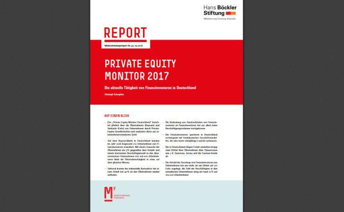 Private Equity Monitor: Das Transaktionsvolumen auf dem deutschen Private-Equity-Markt hat ein neues Hoch erreicht.|© Hans-Böckler-Stiftung