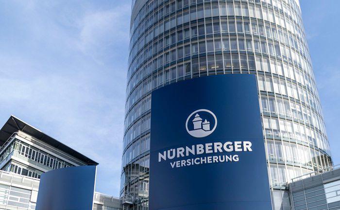 Business-Tower der Nürnberger Versicherung.