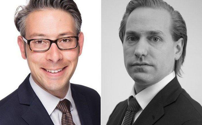 Stefano Hartl (l.) und Thomas Matis von KPMG: Nach fast vier Monaten in der neuen Mifid-II-Welt kristalliserien sich die Research-Preismodelle raus.|© KPMG