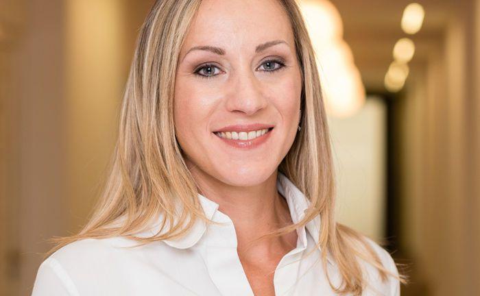Andrea Scheck ist seit 1. April 2018 im Vertrieb der V-Bank tätig.|© V-Bank