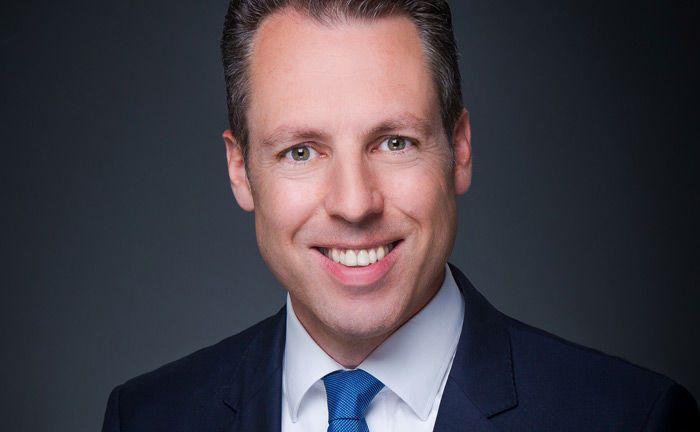 Gerit Heinz von der Deutschen Bank: In deren Wealth Management übernimmt er den Posten des Chefanlagestrategen.|© Deutsche Bank