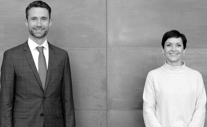 Die Gründungspartner Maxi Unger und Dr. Alexander Koeberle-Schmid haben mit der Gründung einer Beratungsboutique für Familienunternehmen den Weg in die Selbstständigkeit gewählt.|© Koeberle-Schmid & Unger Family Business Advisors