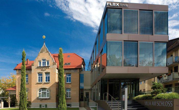 Flex-Fonds-Zentrale in Schorndorf: Der Vermögensverwalter ist nach eigenen Angaben seit 1989 am Markt und managt Investments von mehr als 13.000 Anlegern. |© FLEX Fonds-Gruppe