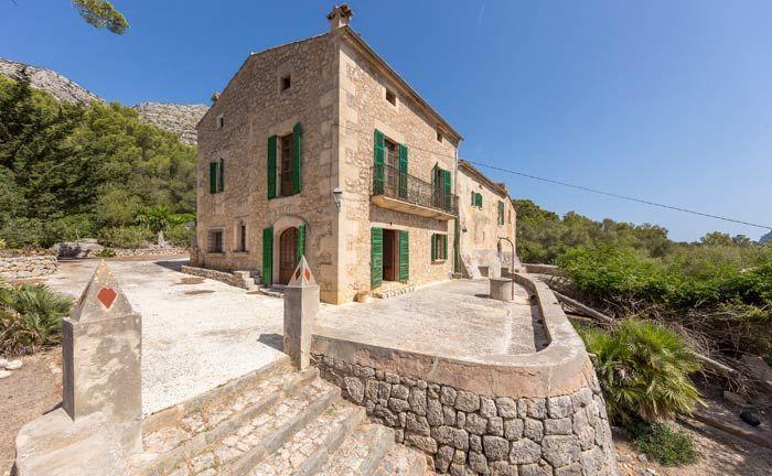 Das Posesion Can Martorellet aus dem 15. Jahrhundert liegt in einem Tal zwischen Pollensa und Cala San Vicente.|© Engel & Völkers Mallorca North