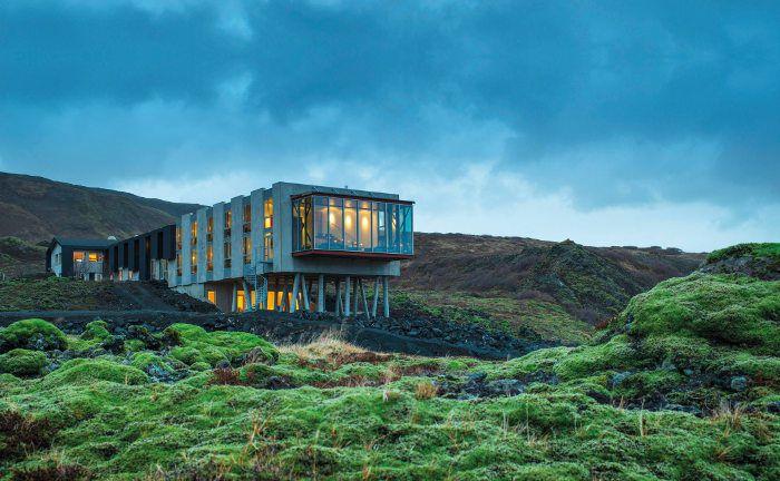 Design-Hotel ION Adventure im isländischen Nesjavellir: Die Starwood-Hotelkette, zu der die auf Vulkangestein gebaute Residenz gehört, emittiert Wandelanleihen, um Zukäufe zu finanzieren.
