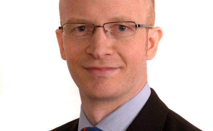 """Steve Hussey, Leiter Financial Credit Research bei AllianceBernstein (AB): """"Die Banken haben seit der globalen Finanzkrise viel erreicht. Doch nun stehen sie vor völlig neuen Herausforderungen."""""""