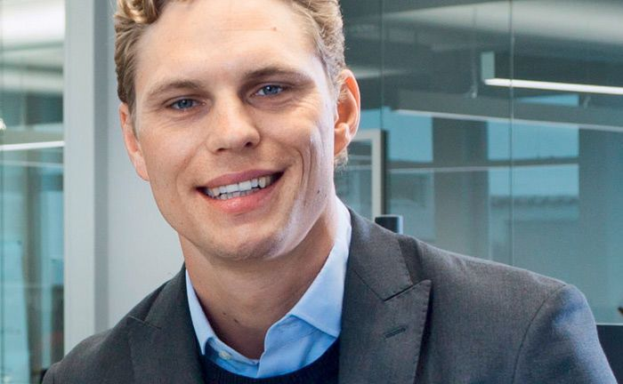 Erik Podzuweit ist Gründer und Geschäftsführer von Scalable Capital.|© Scalable Capital