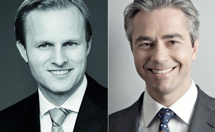 Patrick Maurenbrecher von Kontora (l.) und Thomas Weinmann von Astorius Capital: Der Family Officer und der Private-Equity-Experte erklären ihre künftigen Zusammenarbeit.