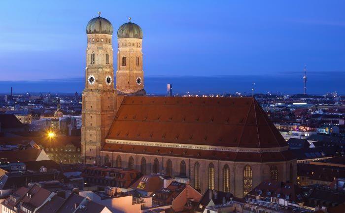 Der Dom zu Unserer Lieben Frau in der Münchner Altstadt: Künftig ist die Frankfurter Bankgesellschaft auch in der bayrischen Landeshauptstadt mit einem Standort vertreten.