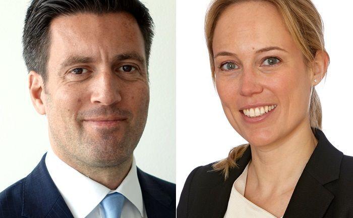 Norman Mayr und Mareike Szynka wechseln zur Wirtschaftskanzlei Pöllath + Partners.|© P+P Pöllath + Partners