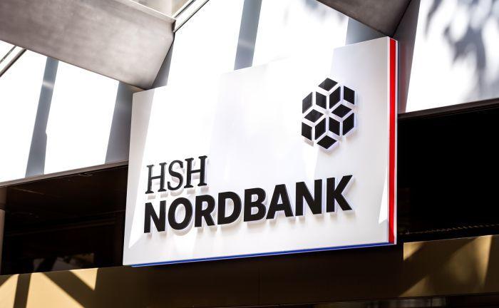 Logo der HSH Nordbank: Der Wechsel der Landesbank in das Haftungssystem der privaten Banken hat eine weitere Hürde genommen.