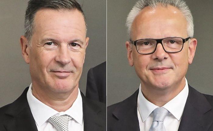 Die Doppelspitze: Axel Melber (l.) und der geschäftsführende Gesellschafter Willi Ernst.|© Werther und Ernst