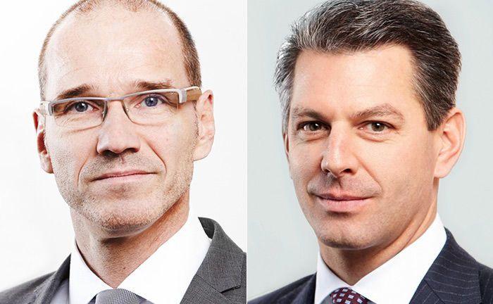 Carsten Hermann (l.) übernimmt die Aufgaben im Fereal-Vorstand von Marcel Renné, der in den Aufsichtsrat der Vermögensverwaltung wechselt.|© Feri