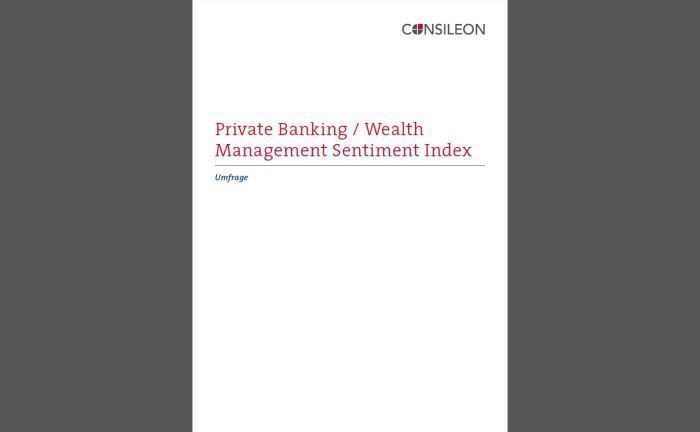 Umfrage von Consileon: Weckruf für das Wealth Management