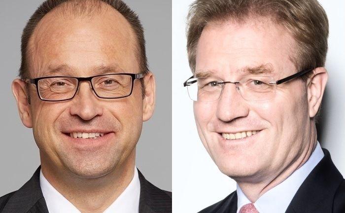 Der neue Aufsichtsratsvorsitzende Lars Hille (l.) und Aufsichtsratsmiglied Jan Martin Wicke.