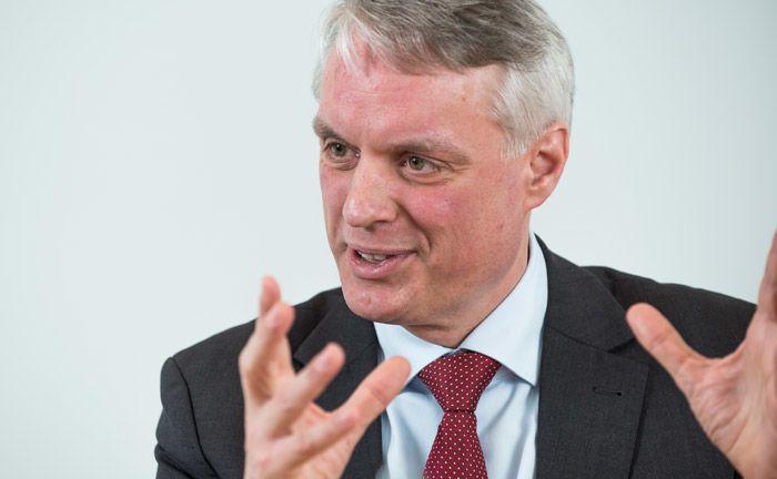 Stefan Kolb ist Leiter Private Port bei der Deutschen Bank.|© Lutz Sternstein