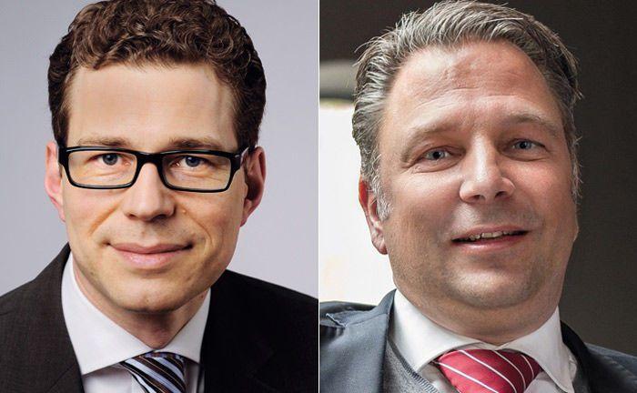 Dr. Stefan Fritz (l.) und Jörg Seifart: Für die komplizierte Interessenskonstellation bei der Entsendung von Vertretern eines Finanzunternehmens in Stiftungsgremien sollte eine eigene Compliance-Richtlinie existieren, die verschiedene Fragen regelt.