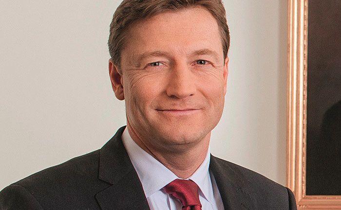 """Hauck & Aufhäuser-Chef Michael Bentlage: """"Wir werden uns in diesem Quartal um eine Lizenz bewerben""""."""