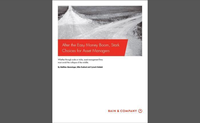 Studie von Bain & Company: Ertragsdruck auf Asset Manager wächst weiter