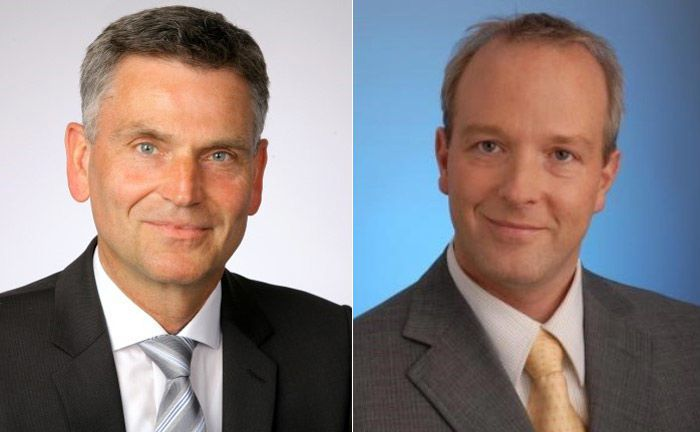 Frank Tietjen (l.) und Stefan von Kuczkowski von Finum Private Finance.