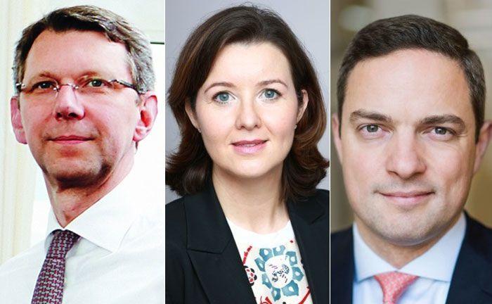 Michael Arends (l.), Cordula Haase-Theobald und Dirk von Padberg finden bei BNP Paribas Wealth Mananagement eine neue berufliche Heimat.