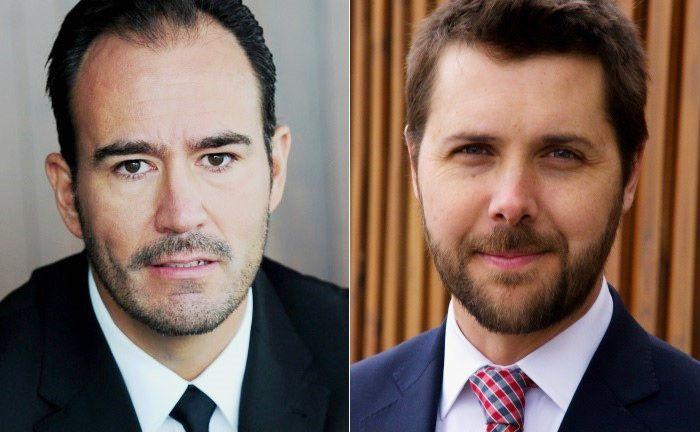 Sergio Trigo Paz (l.) leitet den Bereich Schwellenländeranleihen bei Blackrock, Brian Deese ist Leiter des Bereiches Nachhaltiges Investieren. |© Blackrock