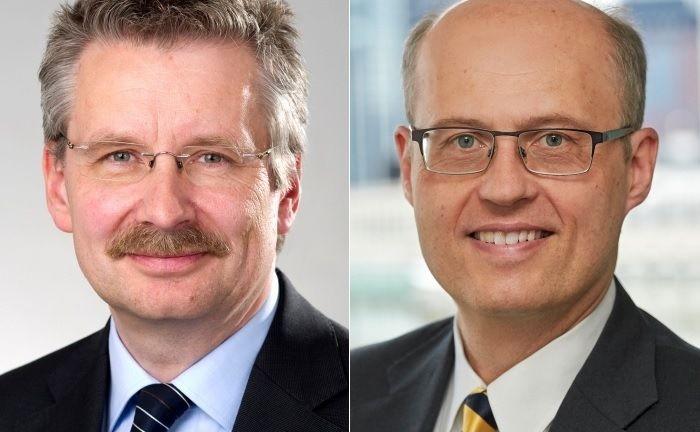 Die Leiter des RMO-Teams bei AGI, Henrik Büscher (l.) und Thomas Stephan, sind seit mehr als 20 Jahren im Bereich Multi-Asset tätig