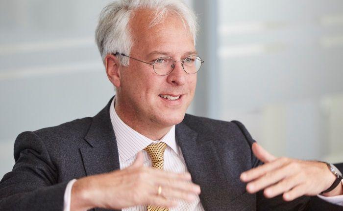 """Georg Graf von Wallwitz: """"KI bietet Raum für clevere Investoren, besser zu sein als die Maschine""""."""