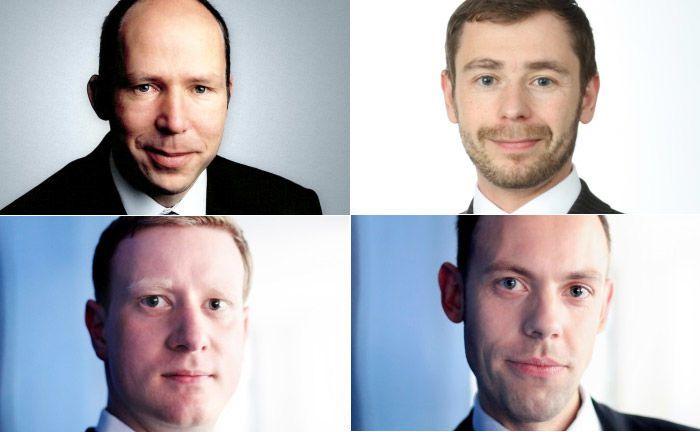 Die beiden Mitgründer und Geschäftsführer der 2IG, Georg Klusak (l.o.) und Jörg Homann (r.o.) sowie Falk Scherer (l.u.), Geschäftsführer der Connos IT-Solutions und Connos-Geschäftsführer Johannes Zahn. |© 2IG/Connos
