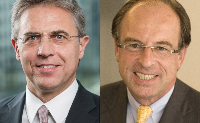 Gerald Noltsch (l.) und Charles Cock.