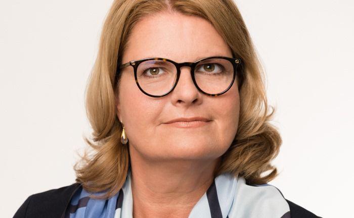 Martina Palte ist neues Vorstandsmitglied der Berliner Volksbank|© Peter Adamik
