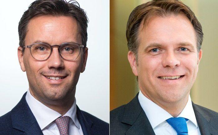 Michael Jänsch und Andreas Ost von Oddo BHF: Die beiden übernehmen die Co-Leitung für die Beratung von strategischen Kunden.