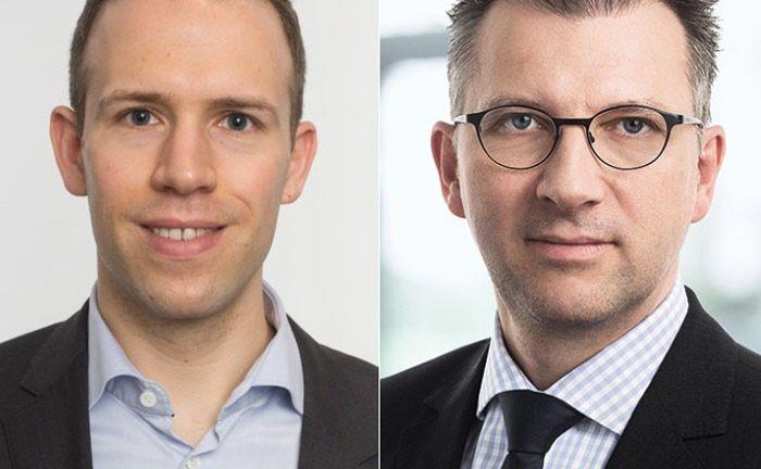 Dr. Alexander Hillert (links), Professor der Frankfurter Goethe Universität, und Dr. Ulrich Neugebauer, Geschäftsführer der Deka Investment. |© Deka Investment