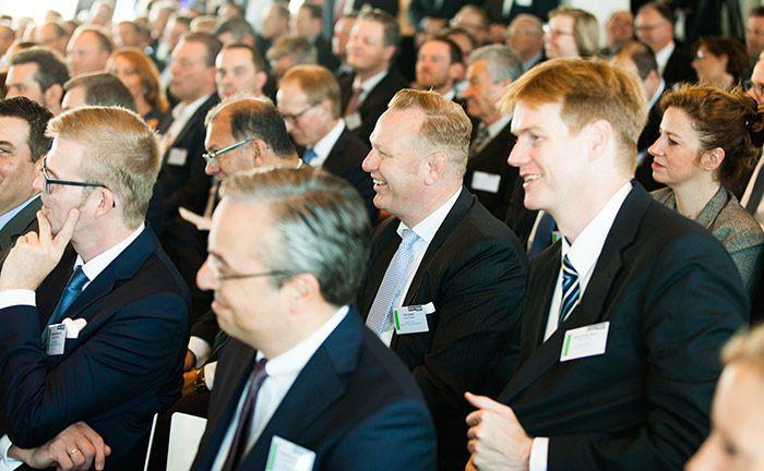 Teilnehmer des 16. private banking kongress in Hamburg |© Christian Scholtysik, Charlotte Holz