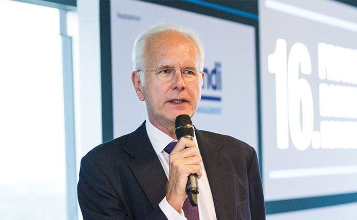 Harald Schmidt war Gaststar auf dem 16. private banking kongress