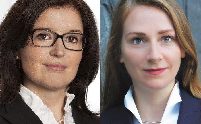 Carmen Mielke-Vinke (l.) und Maren Gräfe.