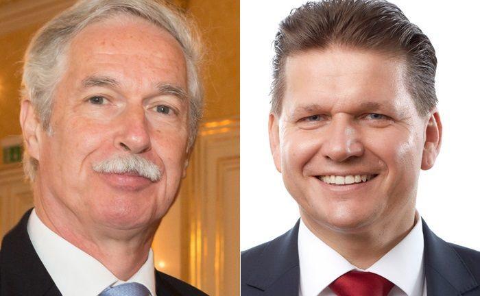 Otto Lucius (l.) bleibt dem österreichischen Verband Financial Planners als Vorstandsmitglied erhalten. Helmut Siegler übernimmt von Lucius den Vorsitz des Verbands.