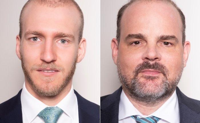 Geschäftsführer von Paladin Quant sind Marcel Maschmeyer (l.) und Dr. Oliver Klehn.