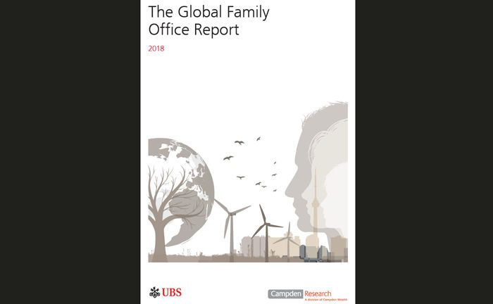 Screenshot der Studie: Der Global Family Office Report 2018 liefert unter anderem Erkenntnisse zur Rekord-Performance von Family-Office-Investments.