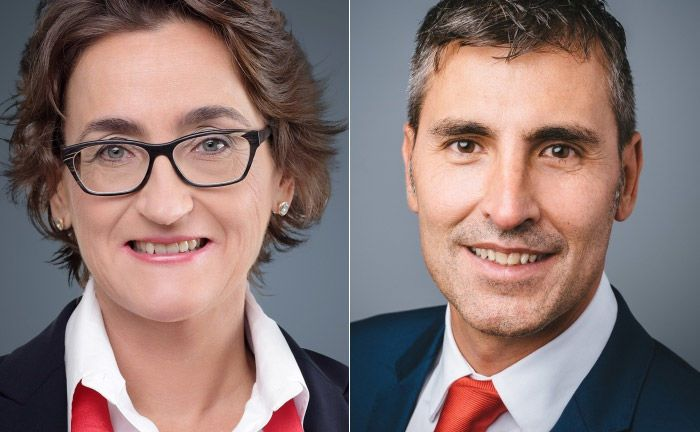Susanne Wendler (l.) und Mauro Maschio.