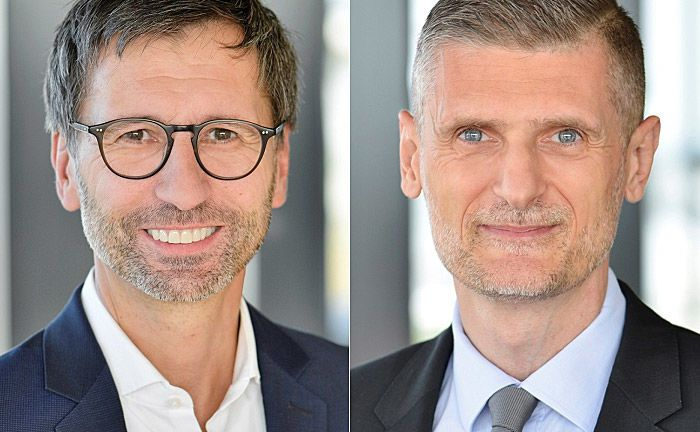 Sven Deglow (l.) und Fabrice Flet.