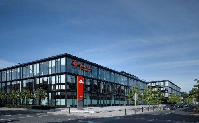 Santander-Unternehmenszentrale in Mönchengladbach. |© Santander