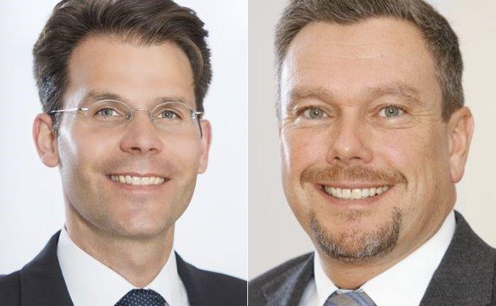 Thomas Krahl (r.) übernimmt die Leitung des Immobilienbereichs der Deutschen Oppenheim Family Office von Christoph Pitschke, der in die Geschäftsführung eines befreundeten Netzwerkpartners wechselt.|© Deutsche Oppenheim Family Office