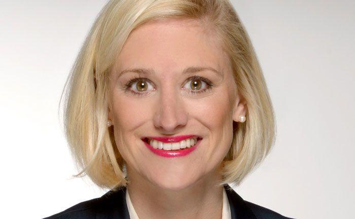 Annette Glaesel kommt von HSBC Trinkaus & Burkhardt in Frankfurt.