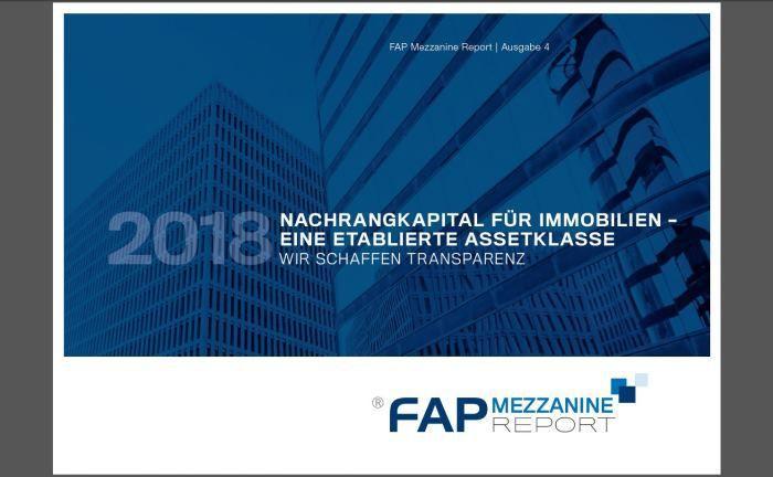 FAP-Mezzanine-Report 2018: Die Analyse erscheint zum mittlerweile vierten Mal.