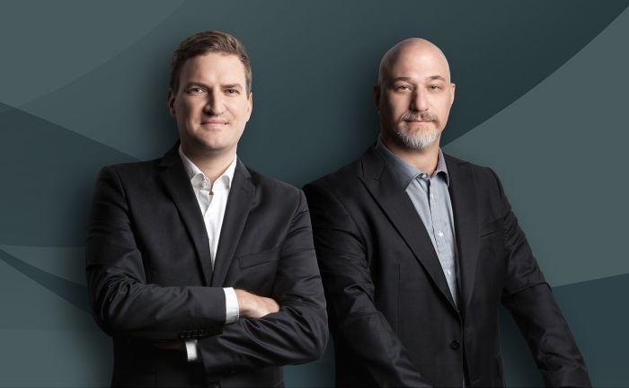 Gunnar Grape (l.) und Christian Gutzler (r.), Geschäftsführer der iComps |© iComps GmbH