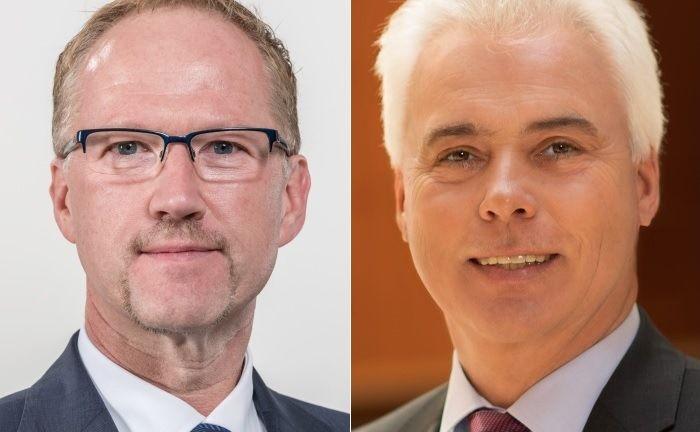 Peter Schirmbeck (l.) und Stefan Schwab|© DZ Privatbank