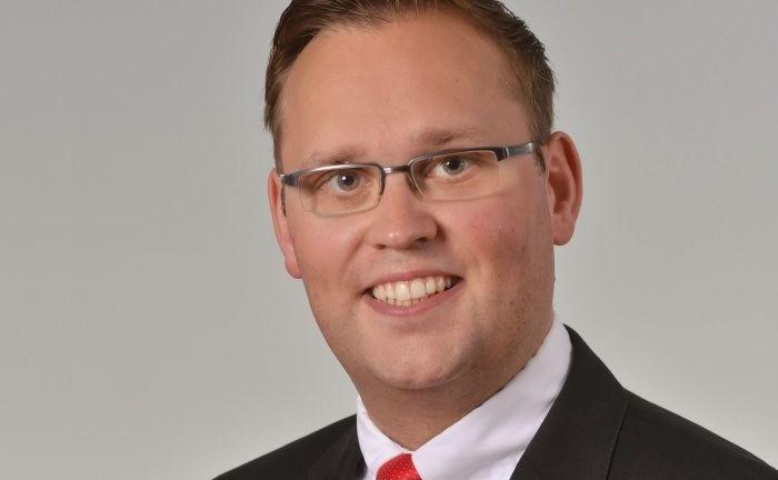 Stephan Kietzmann ist seit 1999 bei der Naspa.