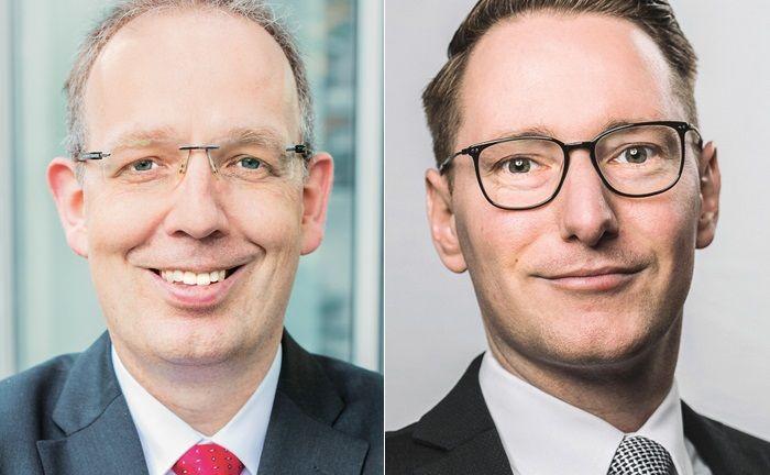 Jörg Plesse (l.) ist Unternehmerberater, Financial und Estate Planner mit mehr als 20 Jahren Berufspraxis. Hubert Hoffmann verfügt über mehr als zehn Jahre Berufserfahrung als Financial und Estate Planner.